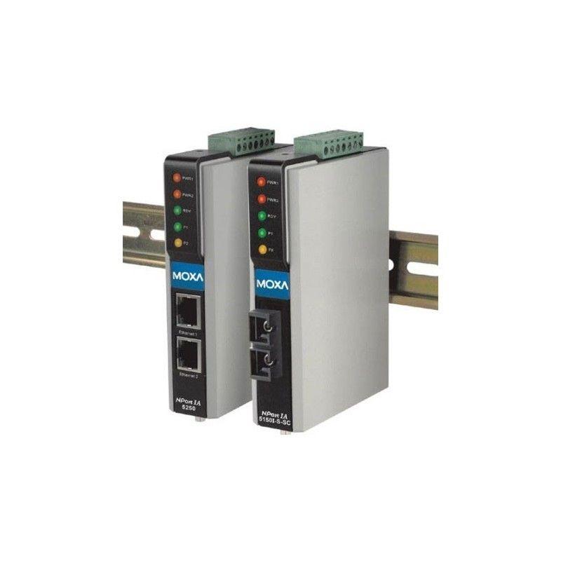 Serveur de ports série pour automatisation industrielle Moxa - NPort IA-5150-M-SC