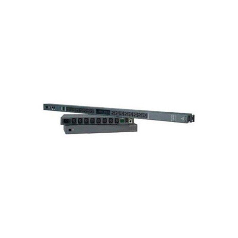 ZeroU vertical. 16 - NEMA 5-15 outlets. 115VAC IEC320/C20 Inlet. (Ro