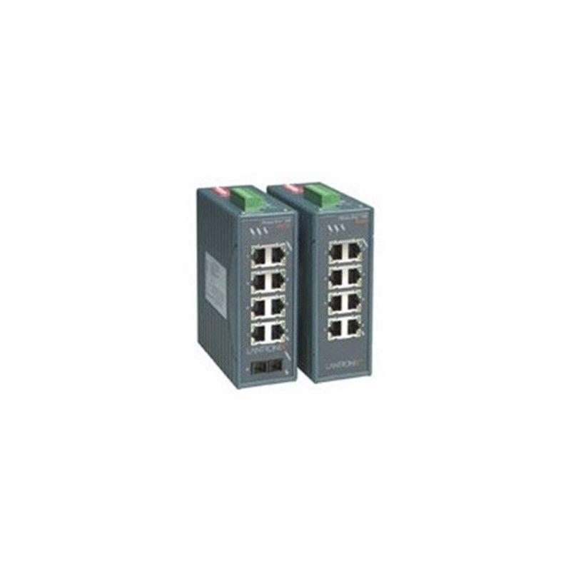 8 x 10/100 Base-T 5. 1 x multimode fiber unmanaged switch