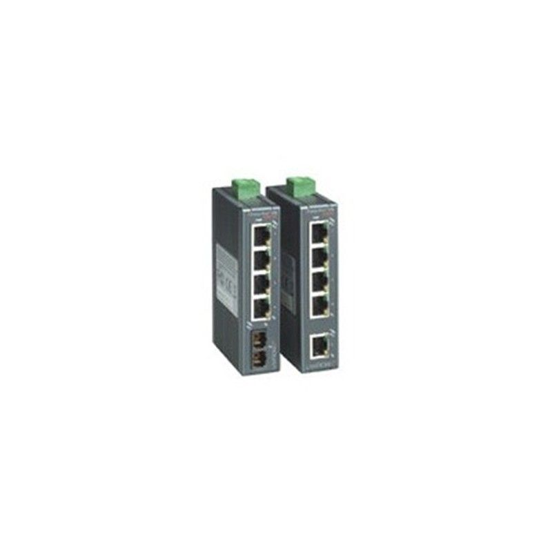 4 x 10/100 Base-T 5. 1 x multimode fiber unmanaged switch