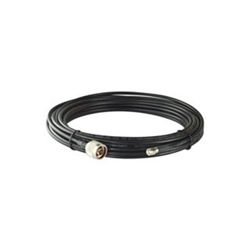 LMR-195 LITE cable  N-type (male) to RP SMA (male)  6 meters