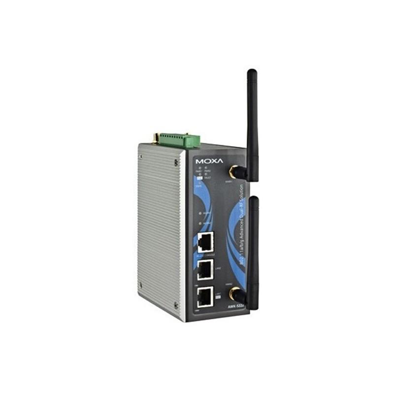 AP/passerelle/client sans fil industriel IEEE 802.11a/b/g double RF