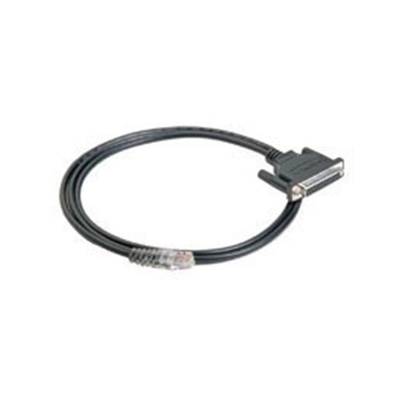 8pin RJ45 to male DB9 connection cable  150cm  for NPort 5210  5610