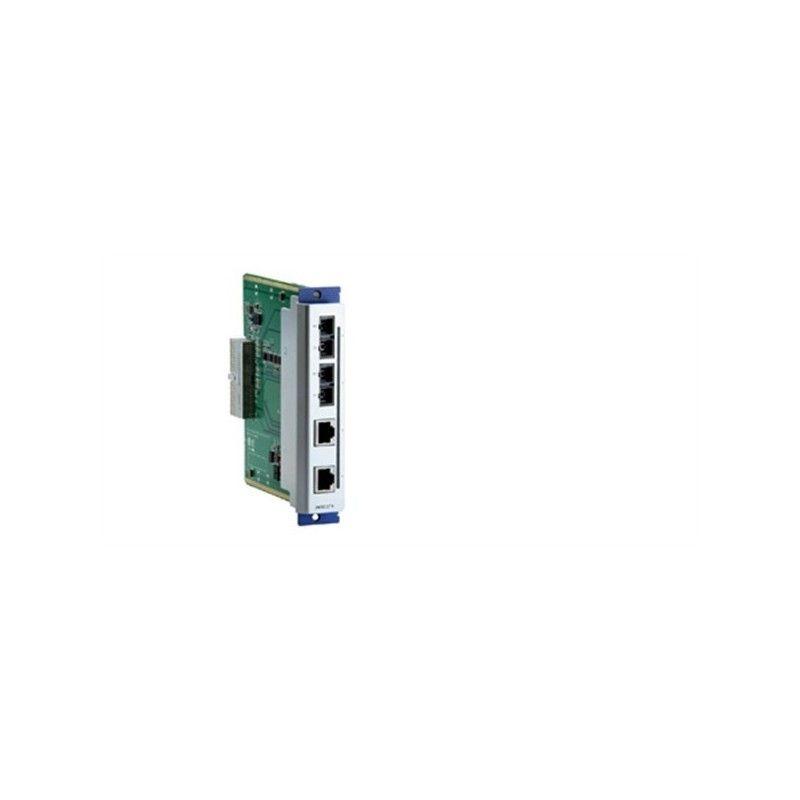 Modules d'interfaces Ethernet rapide 4 ports pour les commutateurs E