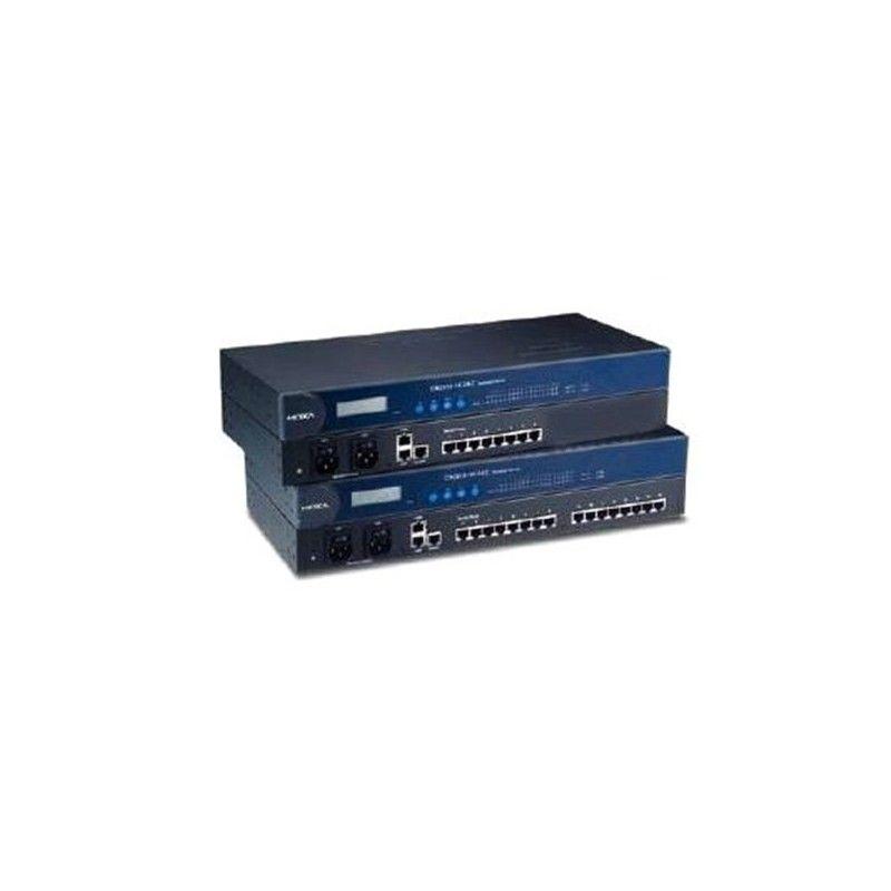 Serveurs de terminaux RS-232/422/485 avec redondance LAN 16 ports RS