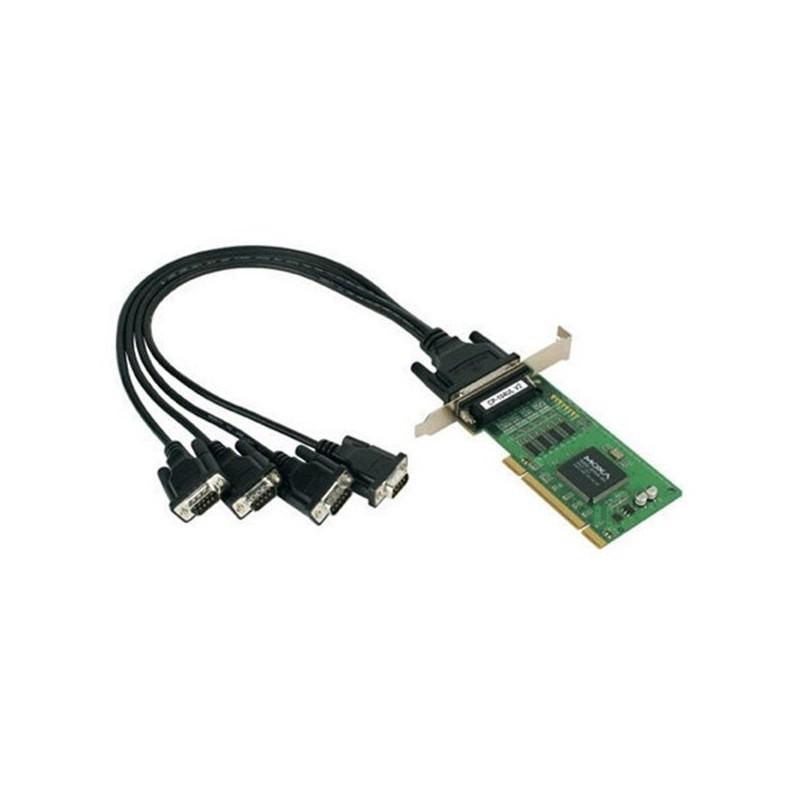 Cartes serie PCI universel intelligentes RS-232 e 4 ports  UPCI