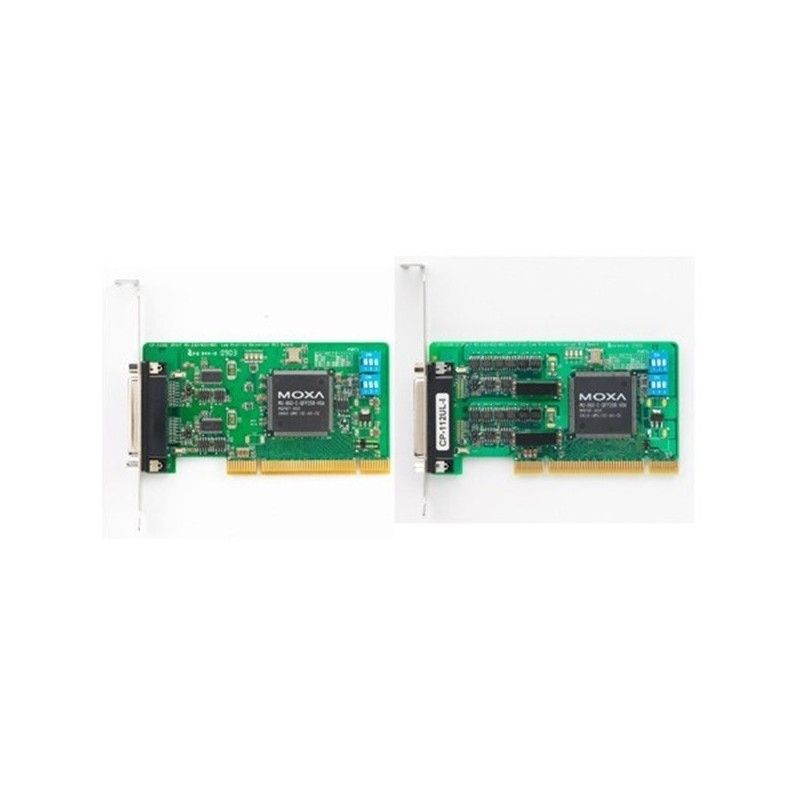 Cartes serie PCI universel RS-232/422/485 e 2 ports avec isolati