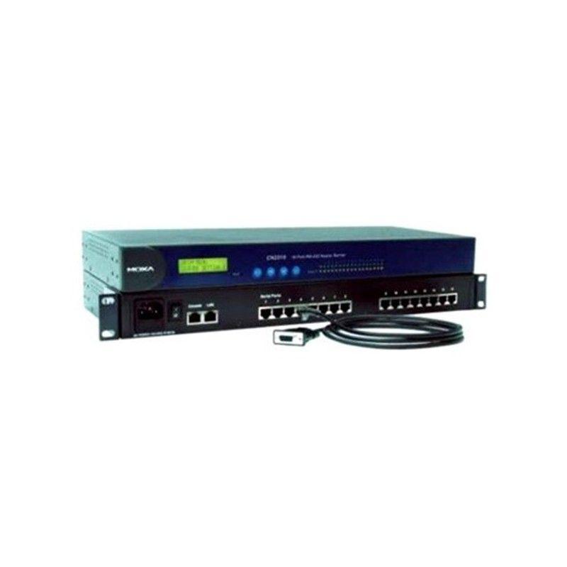 Serveurs de terminaux RS-232  8 port  single 10/100M Ethernet  RS-23