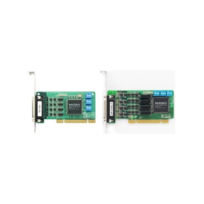 Carte serie PCI universel RS-232/422/485 e 4 ports avec isolatio