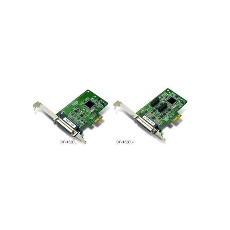 Cartes PCI Express intelligentes RS-422/485 e 2 ports avec isolati