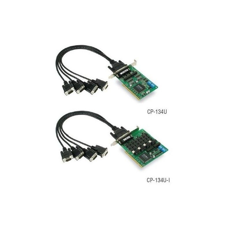 Cartes serie PCI universel intelligentes RS-422/485 e 4 ports av