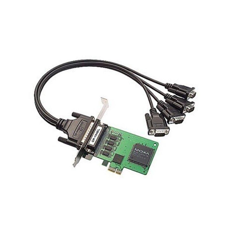 Carte serie PCI Express intelligente RS-232 e 4 ports  PCIe Boar