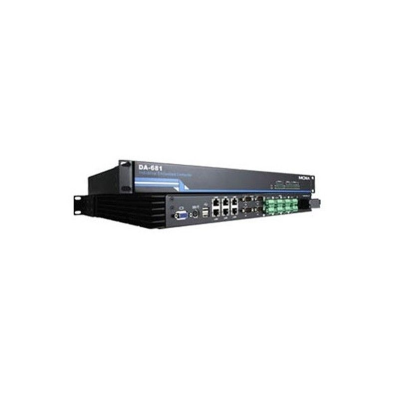 Ordinateur embarque en rack base x86 avec 4 ports RS-232 isole