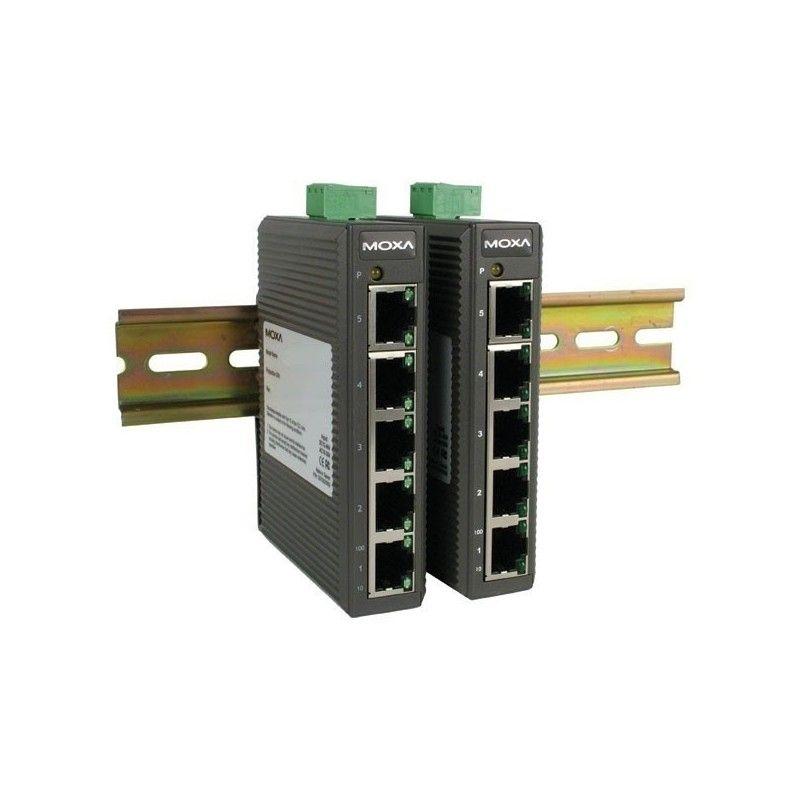 Commutateurs Ethernet non administrables de 5  10/100BaseT(X) ports