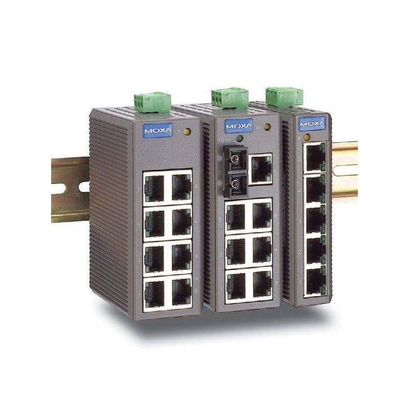 Commutateurs Ethernet non administrables de 8 10/100BaseT(X) ports (