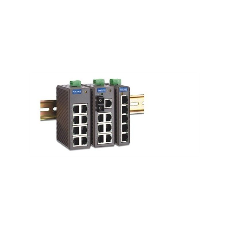 Commutateurs Ethernet non administrables de 7 10/100BaseT(X) ports