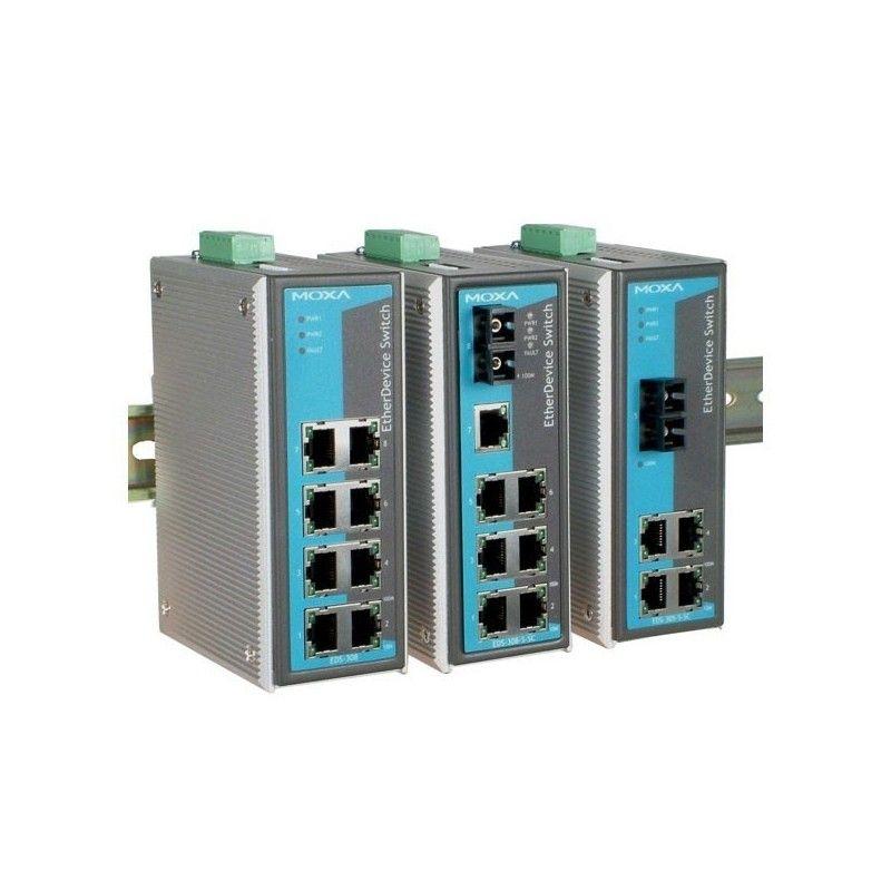 Commutateurs Ethernet non administrables de 8 10/100BaseT(X) ports