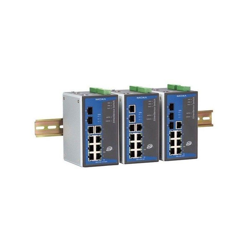 Commutateurs Ethernet Gigabit administrables de 7 10/100BaseT(X) por