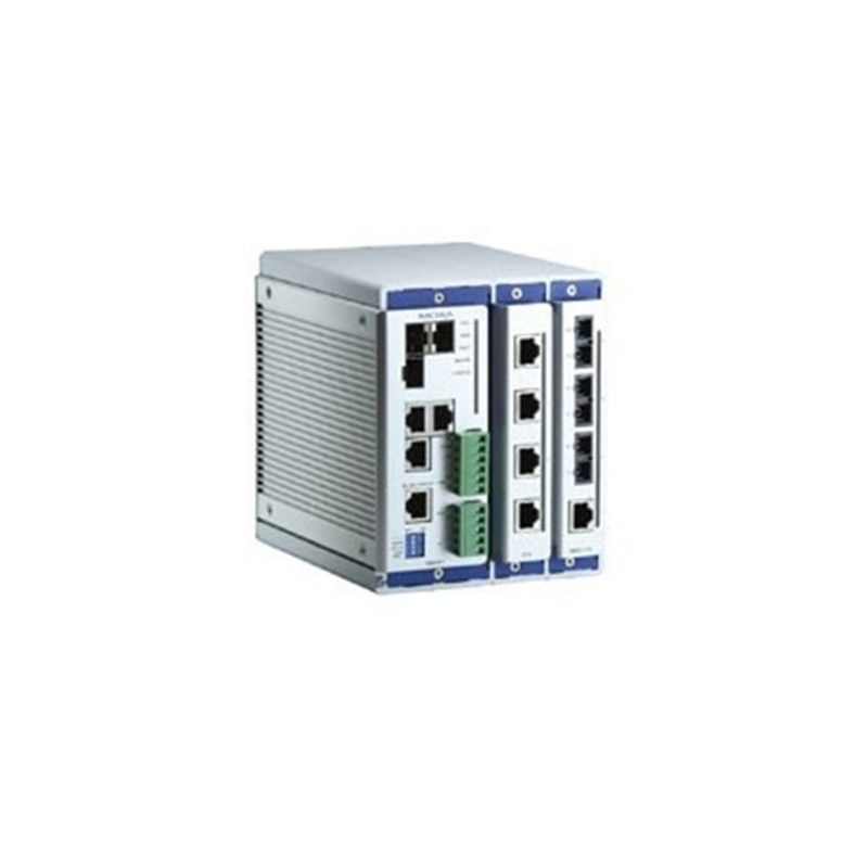 Commutateur Ethernet administrable modulaire compact de 2 slots for