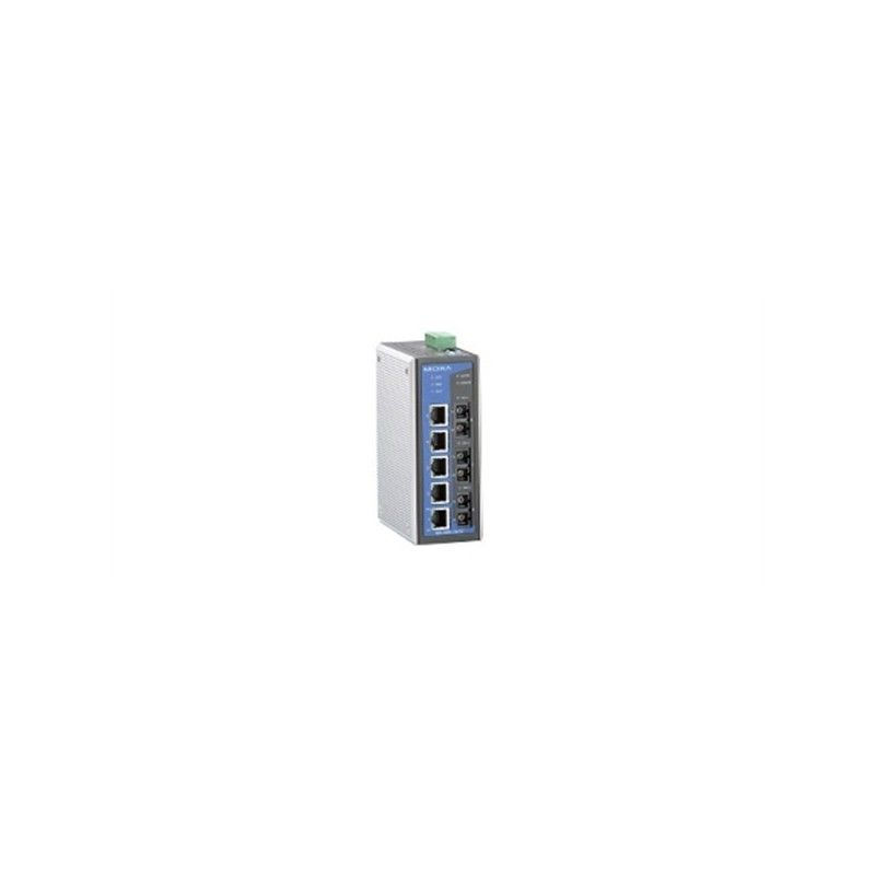 Commutateurs Ethernet administrables de 6 10/100BaseT(X) ports  2 mu