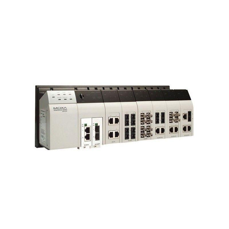 Commutateur Ethernet Gigabit administrable modulaire de niveau de 6