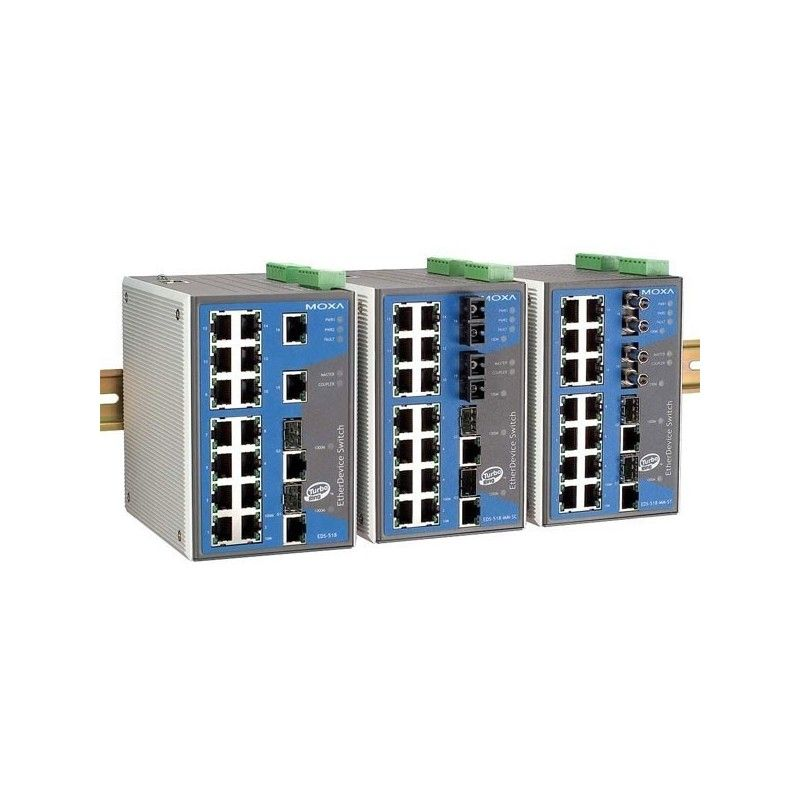 Commutateurs Ethernet Gigabit administrables de 16 10/100BaseT(X) po