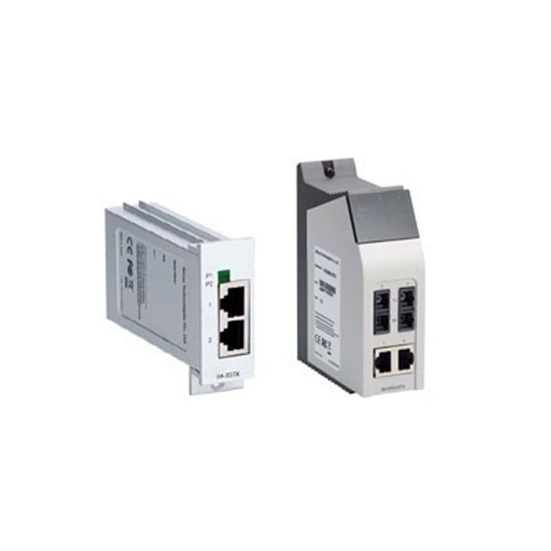 Interface Module with 2 multi mode 100BaseFX ports  ST connector  an