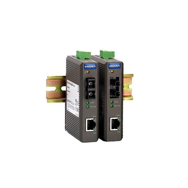 Convertisseur de support industriel d'entree de gamme 10/100BaseT(