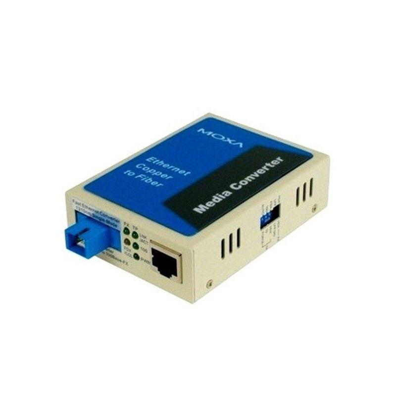 10/100BaseT(X) to 100BaseFX  single mode SC  Single-Strand Fiber Con