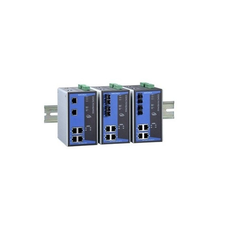 commutateurs Ethernet Industriels 4 PoE 10/100BaseT(X) ports  2 10/1
