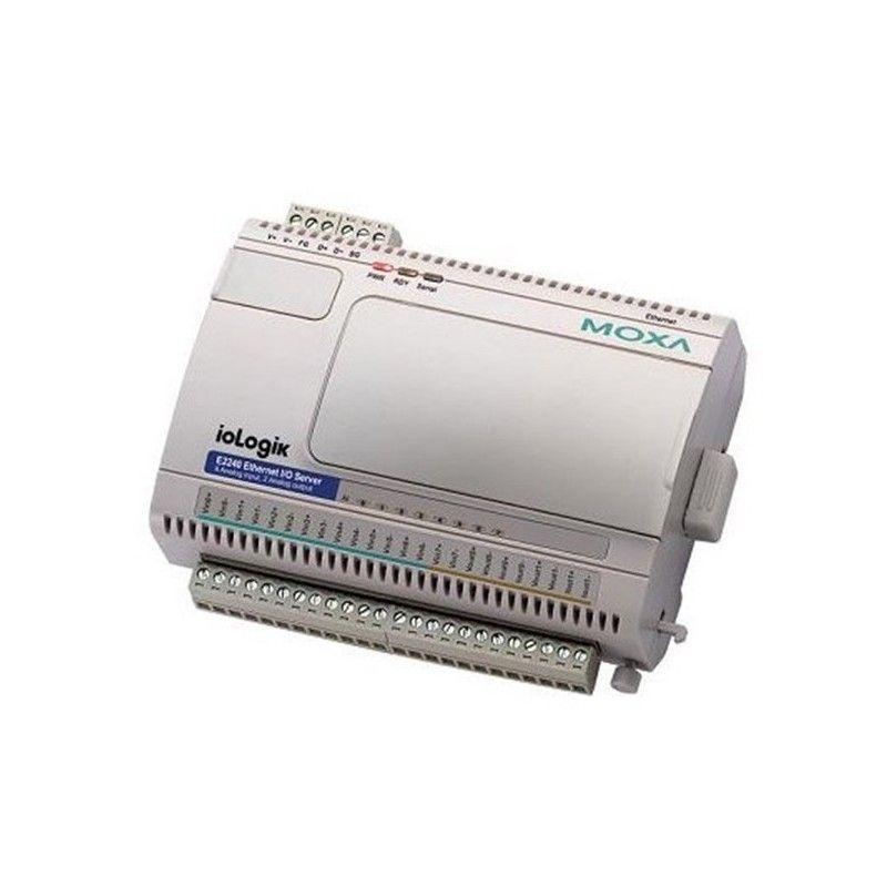 E/S Ethernet Actif avec 8 entrees analogiques et 2 sorties analogi