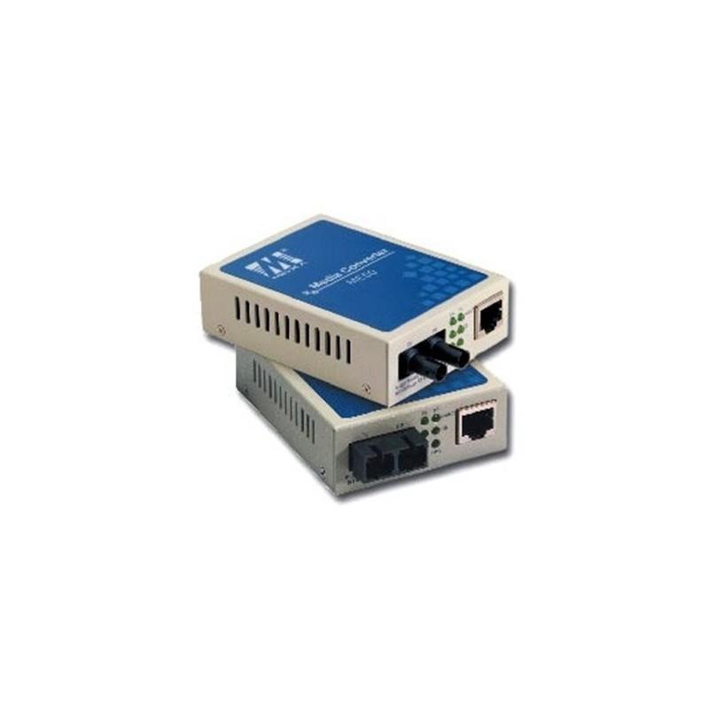 10/100BaseTxto 100BaseFx media converter  single mode  SC type fiber