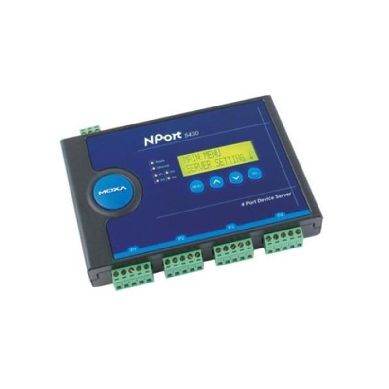 Serveurs de peripheriques serie RS-422/485 4 ports  10/100M Et