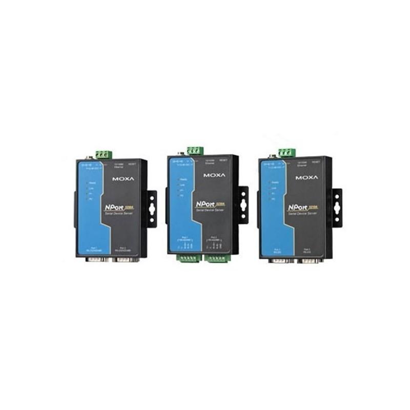 Serveurs peripherique serie RS-232/422/485 2 ports  10/100M Et