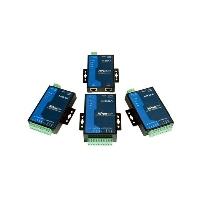Serveurs de peripheriques serie RS-232 2 ports  10/100M Ethern