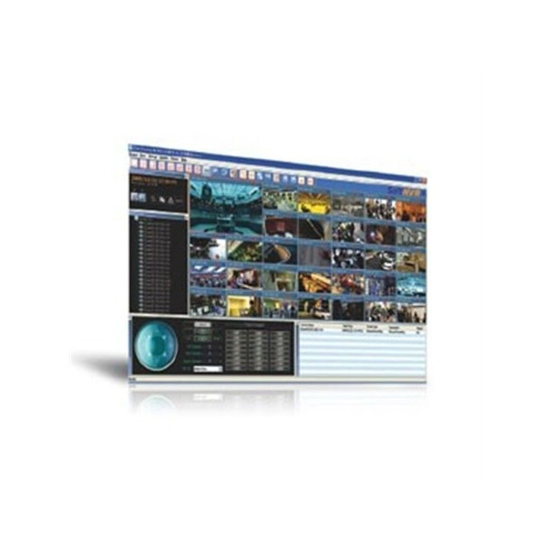 32-channel IP video surveillance software for industrial automation