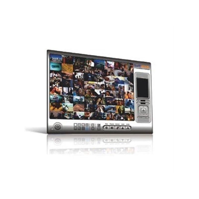Expandable 8-channel IP Surveillance Software