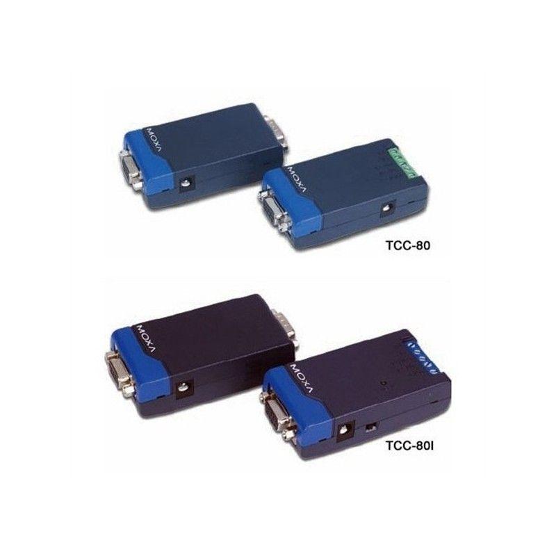 Convertisseur RS-232 vers RS-422/485 autoalimente avec isolation 2