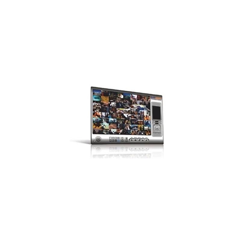 Expandable 4-channel IP Surveillance Software