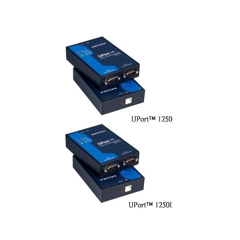 Convertisseur USB vers serie RS-232/422/485 2 ports avec isolation