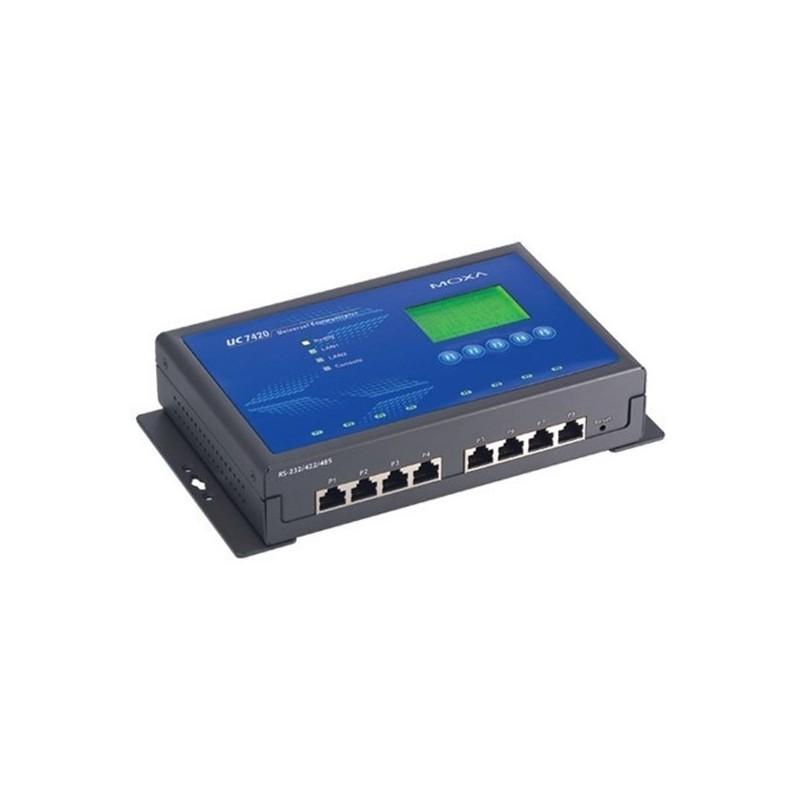 Ordinateur pret e l'emploi RISC avec 8 ports serie  doubles rï