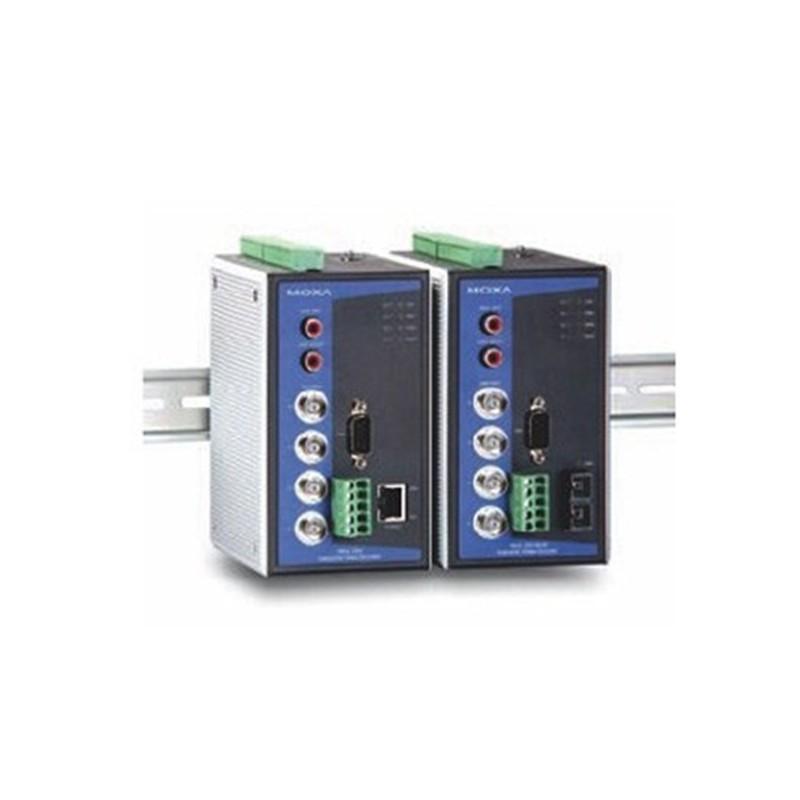 4-channel MJPEG/MPEG4 Industrial Video Encoder  1 single mode 100Bas