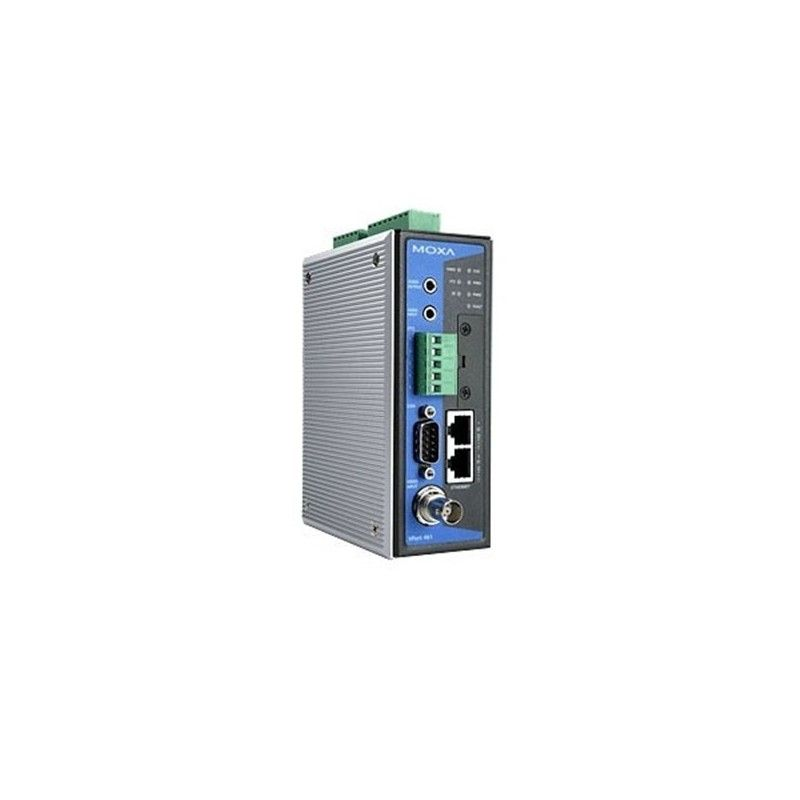 Full Motion  1-ch H.264/MJPEG Industrial Video Encoder  2 10/100Base