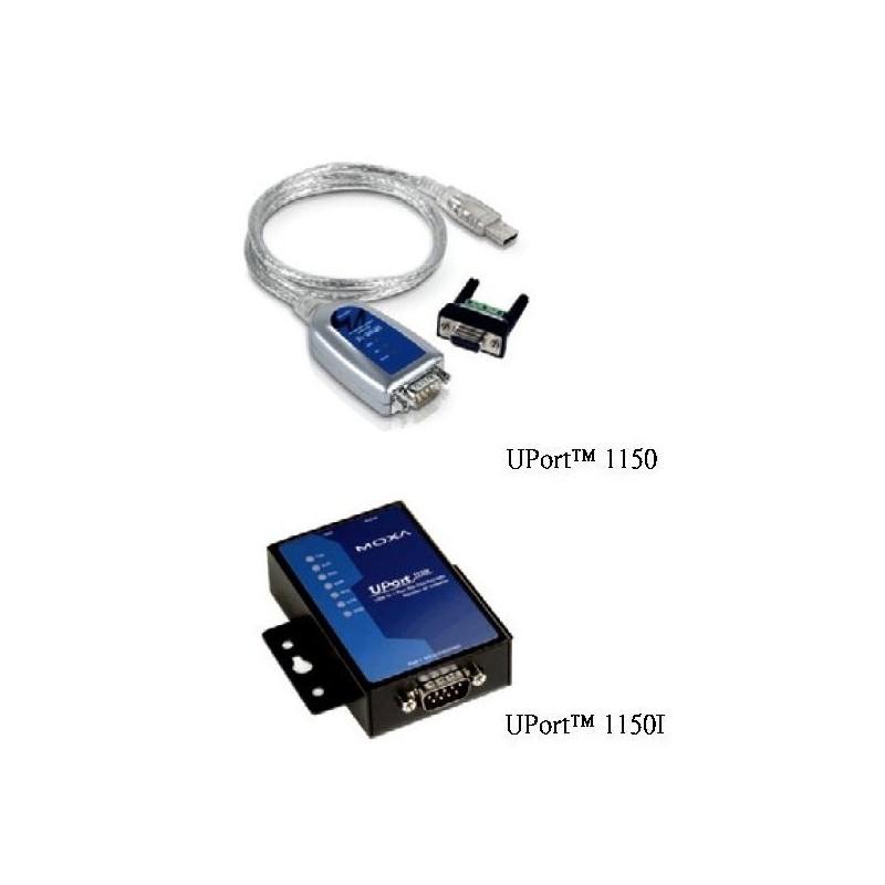 Convertisseurs USB vers serie RS-232/422/485 1 port avec isolation
