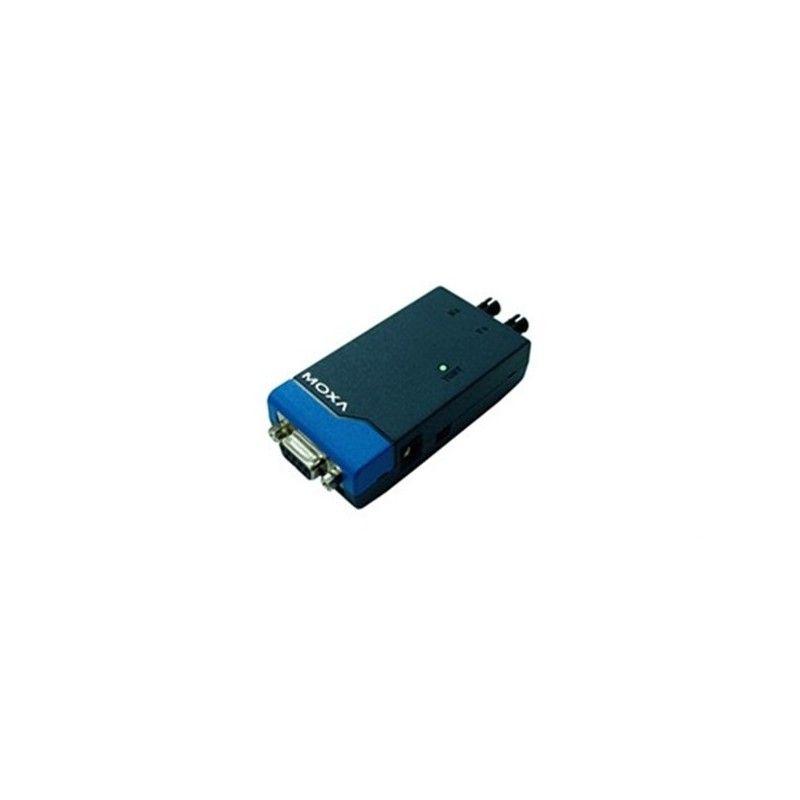 Convertisseurs de support autoalimentes RS-232 vers fibre optique.