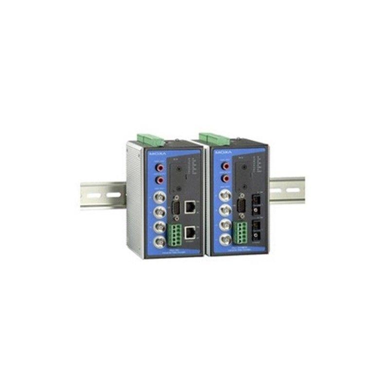 Full Motion  4-channel MPEG4/MJPEG Industrial Video Encoder  2 singl