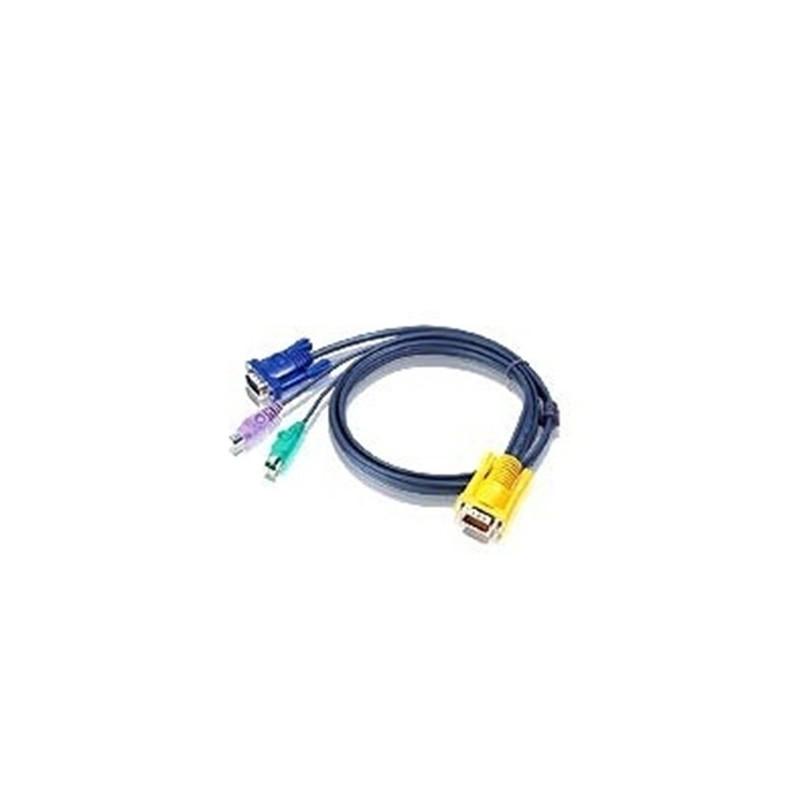 cable PS/2 (cote PC) pour PC PS/2 - 1.8m