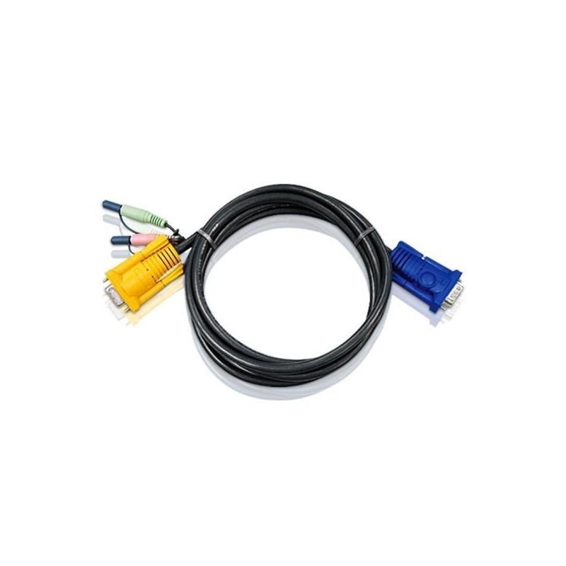 cable KVM (VGA + Audio) pour KVM : CS1742 & CS1744 - 3m