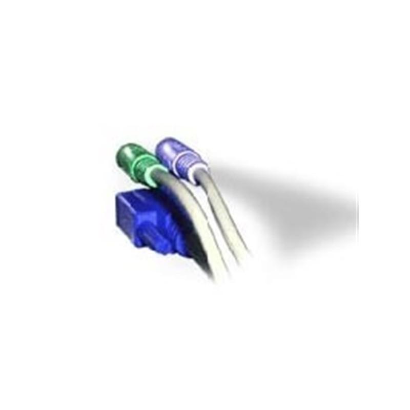 Iss.1 Serial 'Y' splitter cable 100mm +/- 5mm  (For AV200 units)