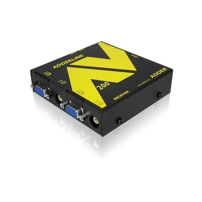 Recepteur et repeteur Audio et Video sur cable Cat 5 jusqu'a